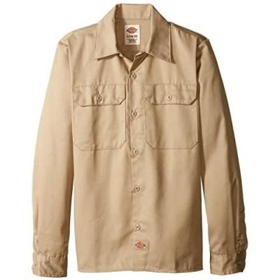 Dickies Boys' Twill Long Sleeve Shirt