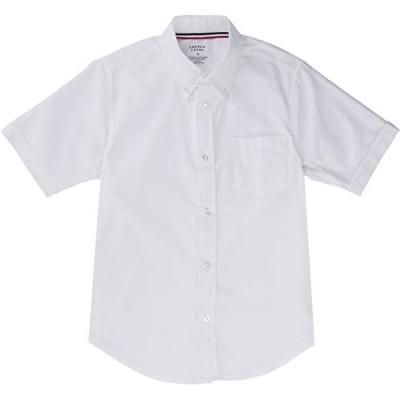 French Toast School Uniform Boys Short Sleeve Oxford Shirt