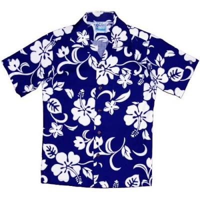 RJC Boy's Classic Hibiscus Hawaiian Shirt