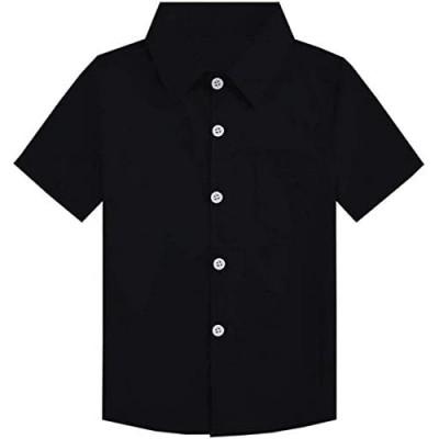 SANGTREE Boys Girls & Adult Short Sleeve Plaid Shirt  2 Years - 2XL