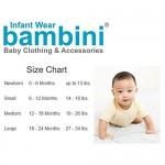 bambini Boy's Rib Knit Pastel Sleeveless Tank Top Shirt 6-Pack - S