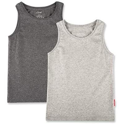 CUNYI Boys' Cotton Tank Tops Undershirts  1 or 2 Pack