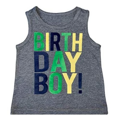 SoRock Birthday Boy Toddler Kids T-Shirt 1st  2nd  3rd  4th  5th  Youth Small-Youth Large