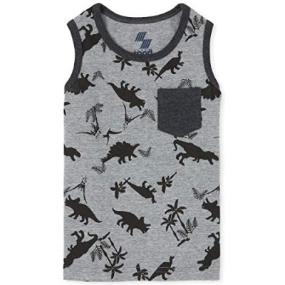 The Children's Place Boys' Graphic Tank Top