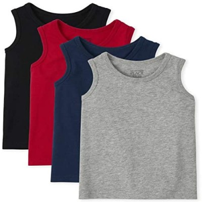 The Children's Place Toddler Boys Tank Top 4-Pack
