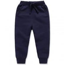 Eleven's Kingdom Toddler Boys Girls Sweatpants Unisex Kids Solid Cotton Drawstring Elastic Active Jogger Pants 2-8T