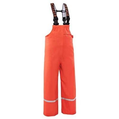 Grundéns Little Boys' Zenith 117 Fishing Bib Pants  Orange - 14 Year