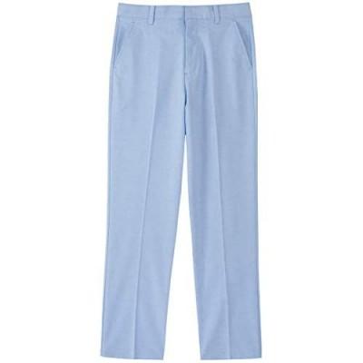 IZOD Boys' Oxford Flat Front Dress Pant