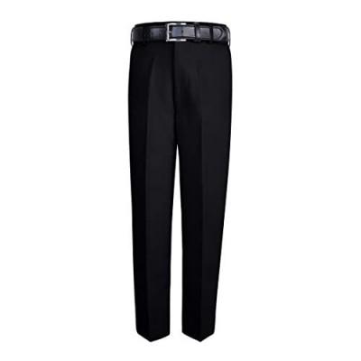 S.H. Churchill & Co. Boy's Comfort Waist Dress Pants and Belt