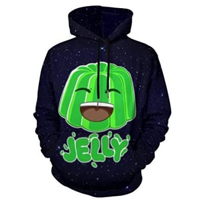 J-e-lly Children's Hoodies 3D Print Unisex Pullover Hooded Sweatshirts for Boys/Girls/Teen/Kid's