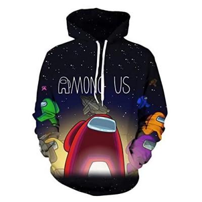 Oarkcave 3D Hoodie Casual Streetwear Unisex Pullover Hooded Sweatshirts Hoodies for Teen/Boys/Girls