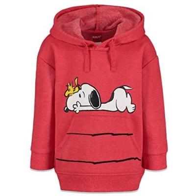 Snoopy Woodstock Joe Cool Toddler Boys Fleece Pullover Hoodie