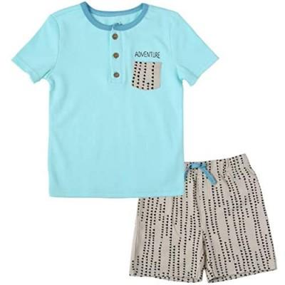 Baby Boys Clothes Fashion Tee Shirt and Cotton Shorts Set