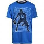 Pro Athlete Boys' Activewear Set - Short Sleeve T-Shirt Tank Top and Gym Shorts Performance Kids Clothing Set (3 Piece)
