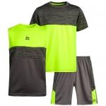 RBX Boys' Active Shorts Set – Short Sleeve T-Shirt Tank Top and Gym Shorts Performance Activewear Set