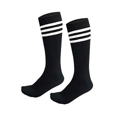 AnjeeIOT 1 Pair Kids Soccer Socks  School Team Dance Sports Socks  High Socks For 5-10 Years Old Youth Boys & Girls