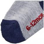 Hanes Boys' Toddler 6-Pack Non Skid EZ Sort Crew Socks