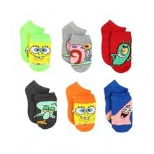 Spongebob Boys Toddler Multi pack Socks