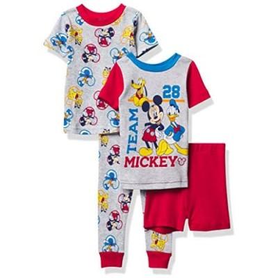 Disney Boys' Mickey Mouse Snug Fit Cotton Pajamas