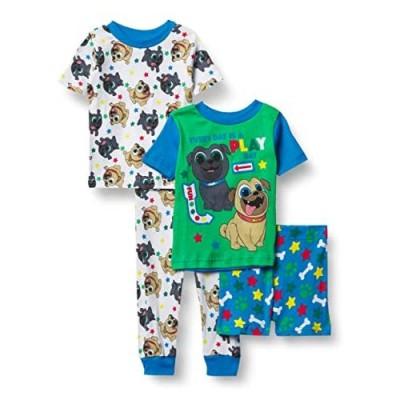 Disney Boys' Puppy Dog Pals Snug Fit Cotton Pajamas