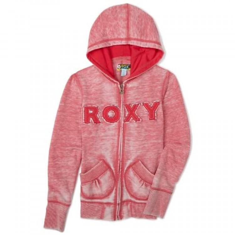 Roxy Big Girls' Rockfest Zip-Up Hoodie