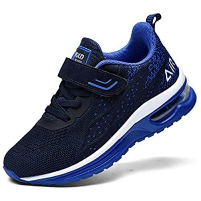 MEHOTO Kid Air Tennis Running Shoes  Athletic Walking Jogging Sport Lightweight Breathable Sneakers for Boys Girls