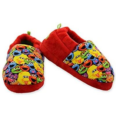 Sesame Street Elmo Cookie Monster Boys Girls Aline Slippers (Toddler/Little Kid)