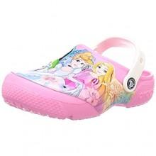 Crocs unisex-child Kids' Disney Princess Clog | Princess Shoes for Girls