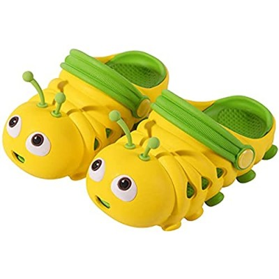 Tantanne Kids' Cute Clog Cartoon Sandal for Home Indoor/Outdoor  Garden Water Shoes for Beach Swimming Pool or Shower  Non-Slip Lightweight  Toddler Little Girl and Boy