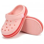 Toddler Clog Slippers Sandals| Slip On Shoes for Boys and Girls | Water Shoes Sneakers Clogs Slide Garden Shoes for Beach Pool Shower