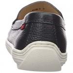 MARC JOSEPH NEW YORK Unisex-Child Leather Made in Brazil Mott Street Grommet Detail Loafer