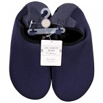 Hudson Baby Unisex-Child Water Shoes for Sports Yoga Beach and Outdoors Kids and -Adult Solid Navy 2 Little Kids