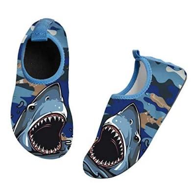 SILITHUS Watermelon Kids Water Shoes Non-Slip Quick Dry Swim Barefoot Beach Aqua Pool Socks for Boys & Girls Toddler