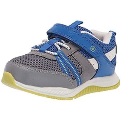 Stride Rite 360 boys Blitz Running Shoe  Grey/Blue  10 Toddler US