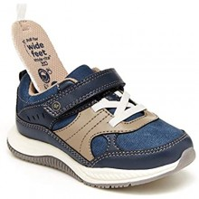 Stride Rite 360 boys Grayson Running Shoe  Navy  7 Toddler US