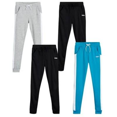 Hind Girls' Sweatpants - 4 Pack Active Fleece Joggers (Big Girl)