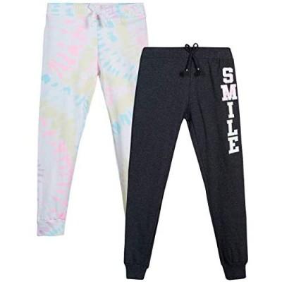 Love Republic Girls' Sweatpants - 2 Pack Active Warm-Up Track Fleece Jogger Pants (Little Girl/Big Girl)