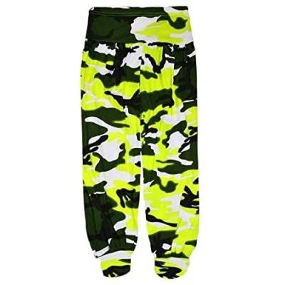 Loxdonz Harem Pants for Girls Kids Yoga Baggy Sports Dancing Pants Toddler Harem Children Trouser