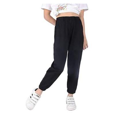 SOFEON Kids Girls Tie Dye Joggers High Waist Comfort Loose Sweatpants Trouser 5-10 Years