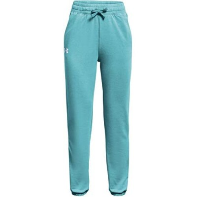 Under Armour Girls' Rival Terry Tapered Pants