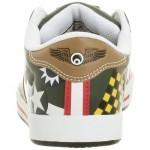 Osiris Little Kid/Big Kid Serve Bomber Sneaker Dark Green/Tan 13 M US Little Kid