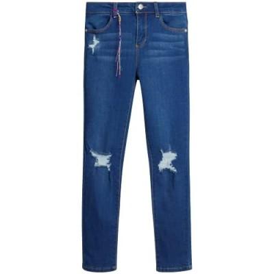 DKNY Girls' Jeggings - High Waisted Super Stretch Denim Jeans