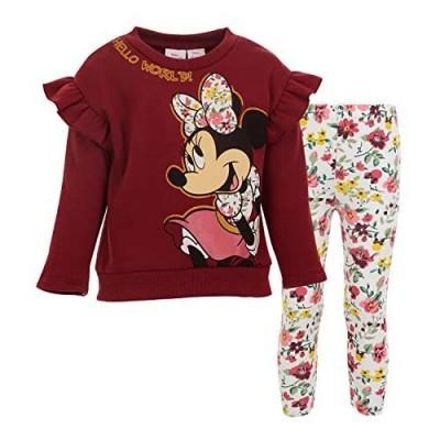 Disney Minnie Mouse Fleece Pullover Sweatshirt and Leggings Set