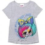 L.O.L. Surprise! 4 Piece Short Sleeve Graphic T-Shirt Leggings & Shorts Set