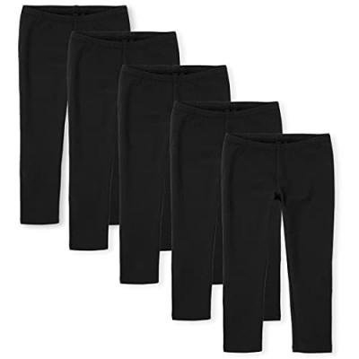 The Children's Place Girls' Fleece Leggings  Pack of Five
