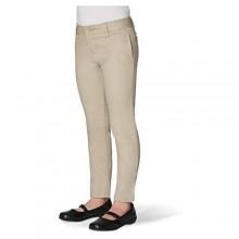 French Toast Girls' Stretch Twill Skinny Leg Pant