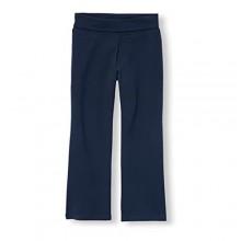 The Children's Place Girls' Uniform Active Foldover Waist Pants