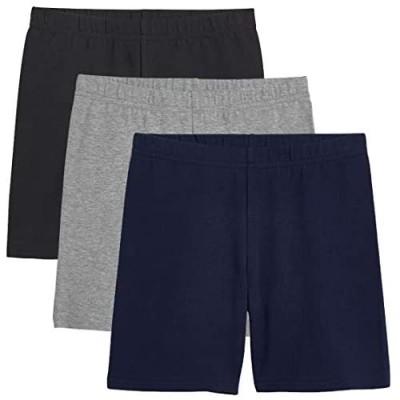 KIDPIK Girls Bike Shorts - 3PACK Set - Great Active Wear