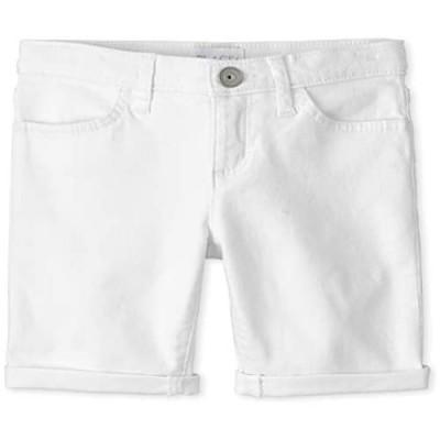 The Children's Place Girls' Denim Skimmer Shorts