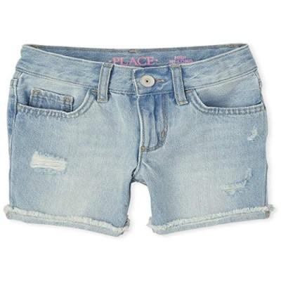 The Children's Place Girls' Midi Denim Shorts